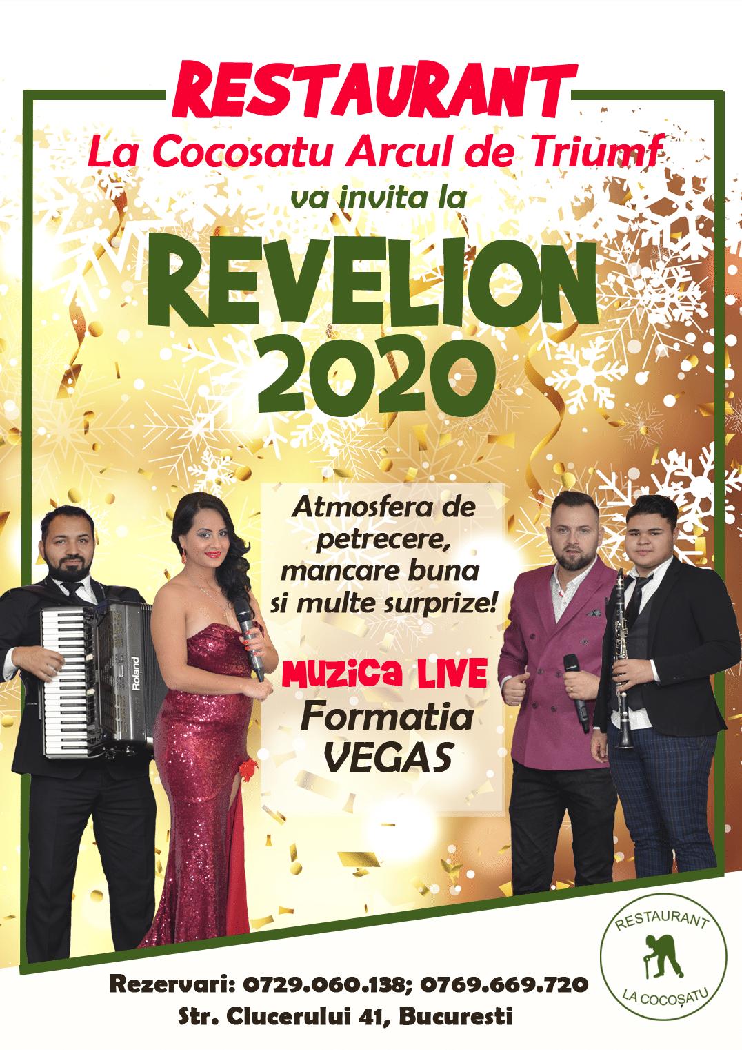 Revelion Romanesc in Restaurantele La Cocoșatu!